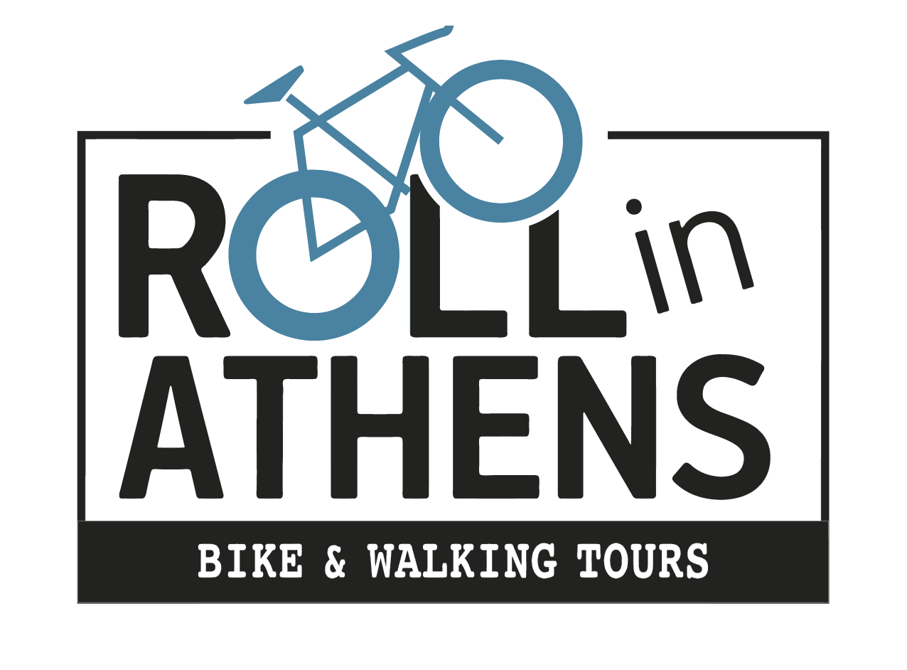 Roll in Athens logo