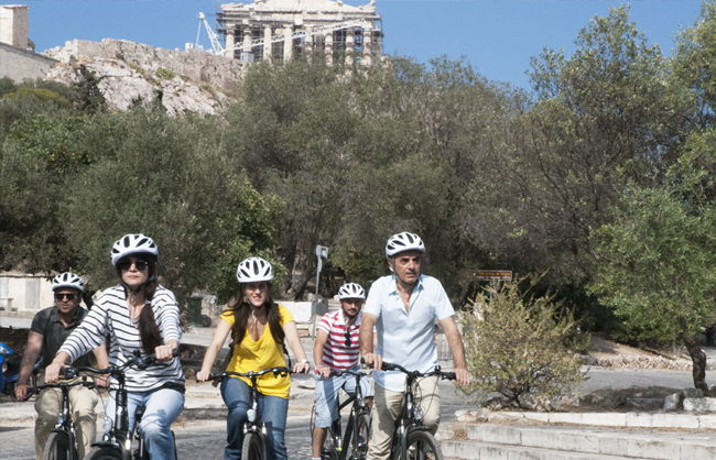 City Highlights Bike Tour photo - Acropolis