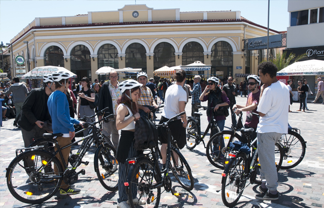 City to Sea Bike Tour photo - Monastiraki square
